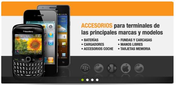 Accesorios originales para móviles
