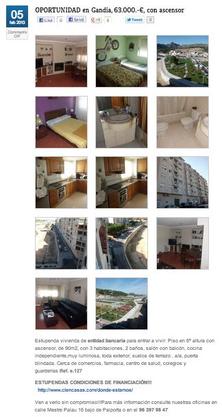 Fotos y descripción de la vivienda