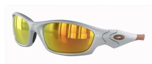 Gafas de sol Oakley con cristal amarillo de espejo
