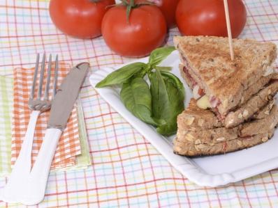 Recetas de cocina con jamón ibérico como un sandwich