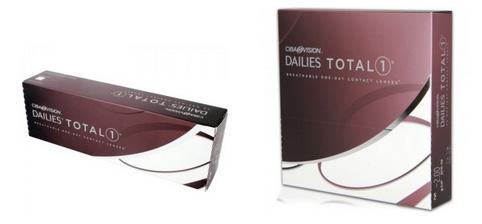Lentillas Dailies Total 1 de Ciba Visión en caja de 30 y 90 unidades