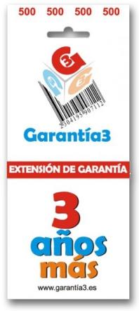 ampliación de garantía a 5 años con 3 años más de garantía 3