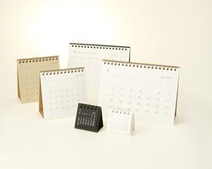 Calendario de sobremesa de Muji