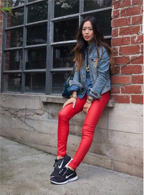 Las zapatillas de running conquistan el street style