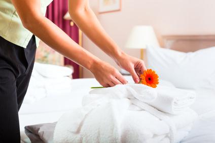 Servicios de limpieza en hoteles
