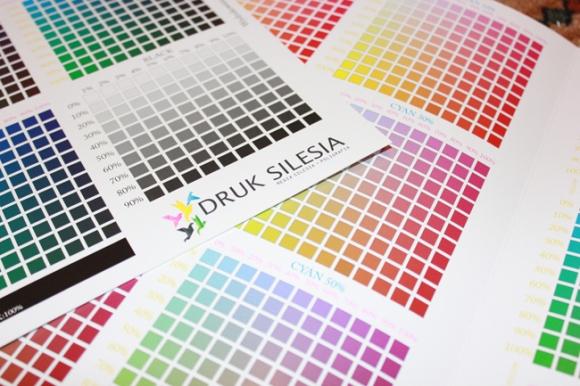 Carta de colores para imprimir online