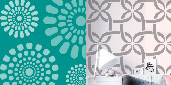 D nde comprar una plantilla de stencil mini de compras - Plantillas para pintar paredes ikea ...