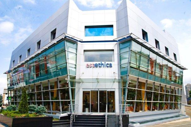 edificio de la clinica estethica en turquia