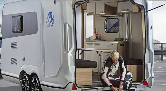 interior de caravanas de lujo