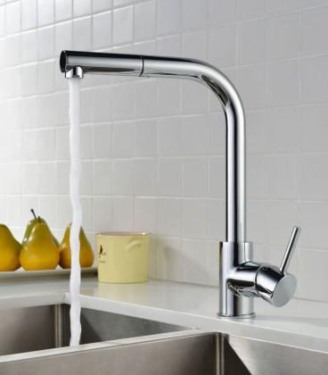 grifo de cocina extraible de diseño en Sink colors